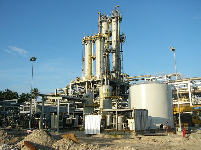 كاربرد كارخانه گاز طبيعي